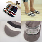 10 Pairs Men's Bamboo Ankle Invisible Loafer Boat Liner Low Cut No Show Socks