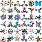 3D Fidget Finger Spinner Hand Focus Ultimate Spin Steel EDC Bearing Stress Toys
