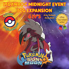 Pokémon SUN & MOON – LYCANROC MIDNIGHT EVENT TCG EXPANSION - 6IVs - OFFER