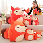 New Lovely 65cm Big Soft Cartoon Fox Plush Toy Giant Cute Animal Fox Doll