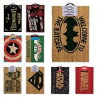 Officially Licenced DC Comics Superhero Logo Door Mat Front Door Mat  40x60cm