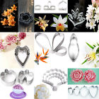 Flower Petal Stainless Steel Cookies Cutter Biscuit Fondant Cake Baking Molds