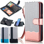 For Samsung Galaxy S8+ Plus Flip Leather Wallet Case Shockproof Magnetic Cover