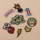 Embroidery Sew On Iron On Patch Badge Fabric Bag Clothes Applique Craft Transfer