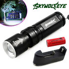 CREE 12000Lumen T6 LED 3Mode 26650 18650 Flashlight Torch Zoomable Rotary Switch