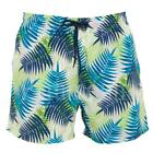 Designer Leaf Pattern Swim Shorts  Mens Size