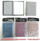 LOT OF 4 OR 12 --ID & CARD HOLDER, CHECK DESIGN  20  CARD HOLDER-P200