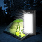 US 50000mah Solar Power Bank 2 USB Battery Charger Pack For iPhone For Universal