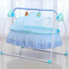 Big Space Electric Baby Crib/ Infant Rocker Baby Swing Bed Baby Cradle