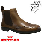 Kyпить MENS RED TAPE LEATHER CHELSEA DEALER MILITARY COWBOY BROGUE ANKLE BOOTS SIZE на еВаy.соm