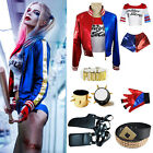SUICIDE SQUAD WOMEN LADY GIRL KID ADULT HARLEY QUINN FANCY DRESS COSTUME OUTFIT