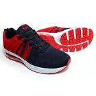 BR051NavyRed Men's Athletic Shoes  Running Training Shoes  Sneaker Shoes