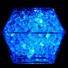 Waterproof Submersible LED Tea light with 20g Aqua Crystals, Vase Event Table.