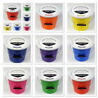 Pack of 10 New Charity Street Collecting Buckets Fundraising Donation 8 Colours