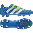 Adidas Mens Ace 16.1 FG/AG Leather Football/Soccer Shoes Blue AF5098 NEW