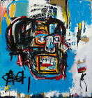 """24Wx26H"""" UNTITLED 1982 by JEAN-MICHEL BASQUIAT Smaller Repro - CHOICES of CANVAS"""