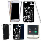 360° Silicone gel shockproof case cover for most mobiles -design ref zq127 clear