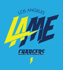 Los Angeles Chargers new logo shirt LAME San Diego Bolts relocation NFL LA SD $18.0 USD on eBay