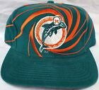 New! NFL Throwback Miami Dolphins Embroidered Snap back Cap