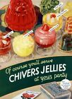 CHIVERS JELLIES 1930  OLD ADVERT  METAL TIN SIGN POSTER WALL PLAQUE