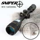 SNIPER NT 4-16X50 AOGL Elevation Lock Glass Etched Reticle Hunting Scope Optics