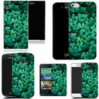 pictoral case cover for most Popular Mobile phones - aqua clover