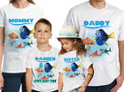 Finding Dory Birthday Shirt Personalized Finding Dory Family T-Shirt
