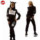 Womens New Casual Tracksuit Hoodies Sweatshirt Pants 2Pcs Jogger Sportswear Set