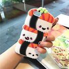 Cute 3D Cartoon Soft Silicone Rubber Case Cover Back For Samsung Galaxy & iPhone