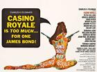 James Bond 007 Casino Royale 1967 Movie Poster Canvas Print David Niven £50.0 GBP on eBay