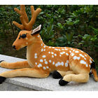 Realistic Emulational Deer Plush Toys Giant Stuffed Christmas Deer Decoration