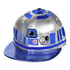 New Era Star Wars Character Face R2D2 Men's Fitted Hat Cap Silver/Blue/Black