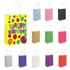 6 x PAPER LUNCH BOXES PARTY PRESENT GIFT PARTIES KIDS HEN PARTY LOOT BAG