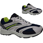 MENS BOYS LIGHTWEIGHT RUNNING JOGGING WHITE LACE UP TRAINERS TENNIS GYM SHOES