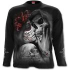 SPIRAL DIRECT DEAD KISS Long Sleeve T-Shirt/Tattoo/Sugar Skull/Demon/Goth/Top