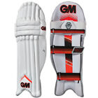 Gunn & Moore 505 Mens Kids Cricket Batting Pads Leg Guards White / Red