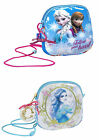 Disney Childrens Small Zipped Bag - Hand Bag + Cord Strap - Frozen or Cinderella