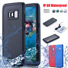 Waterproof Shockproof Dirtproof Clear Cover Case F Samsung Galaxy Note 8 S8 Plus