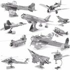 Bpeomg AH64 Apache Aircraft Metal Spielzeug 3D Puzzles Geduldspiele Jigsaw Model