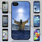 New Jesus Rising from Water Apple iPhone & Samsung Galaxy Case Cover