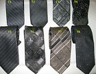 New  Microfiber Black  Mix Pattern Men's Tie Necktie