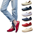 New Men's Slip On Patent Leather Loafer Driving Moccasin Casual Flat Boat Shoes
