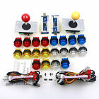 Arcade MAME Multicade DIY Bundle To PC Joystick & 20 x LED Push Button & Encoder