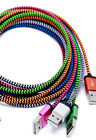 Nylon Braided iPhone 6 5s SE Lightning USB Data Cable Charger - LOT Multi Color