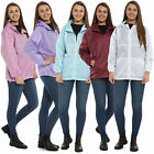 WOMENS LADIES ADULTS WATERPROOF KAGOUL RAIN COATS HOODED JACKET MAC KAGOOL S-XL