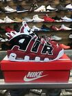 Nike Air More Uptempo Chicago Bulls Pippen Red Black  921948-600 100% Authentic!