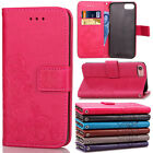 For Apple iPod Touch 6th 5th Gen Leather Flip Magnetic Wallet Card Pouch Case
