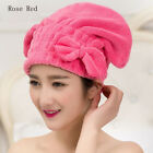 Bath Shower Multi-color Hair Towels Quick Dry Cap Drying Wrap Bow