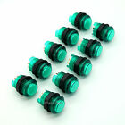 10 x 30mm LED Lighted Arcade Push Buttons To USB MAME Cabinet & JAMMA Game & PS3