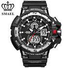 SMAEL Men LED Digital Wristwatch Multifuntional Outdoor Sport Watch Dual Display image